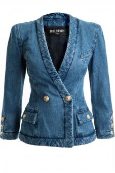 BALMAIN Jeansblazer VESTE - Nur in unserem Store in Spremberg erhältlich.