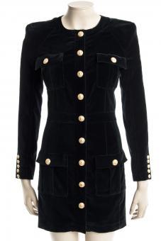 BALMAIN Kleid DRESS BLACK - Nur in unserem Store in Spremberg erhältlich.