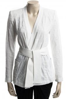 BALMAIN Jacke MAILLE WHITE - Nur in unserem Store in Spremberg erhältlich.
