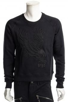 PIERRE BALMAIN Sweatshirt BLACK SWEATER