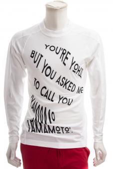 Y-3 YOHJI YAMAMOTO Shirt M GRAPH LS TEE