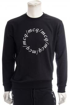 MCQ ALEXANDER MCQUEEN Sweatshirt BLACK SWEAT