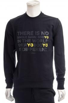 Y-3 YOHJI YAMAMOTO Sweatshirt M ARTW CRW SWT