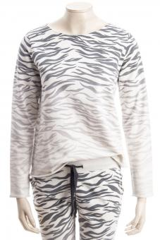 JUVIA Sweatshirt DEVORE ZEBRA DEGRADE SWEATER