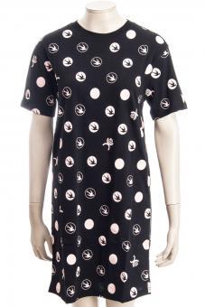 MCQ ALEXANDER MCQUEEN Kleid PLEAT BACK TEE DRESS SWALLO