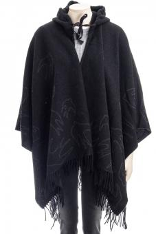 MCQ ALEXANDER MCQUEEN Poncho SWALLOW PONCHO