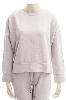 JUVIA Sweatshirt FLEECE SWEATER LUREX PIPING