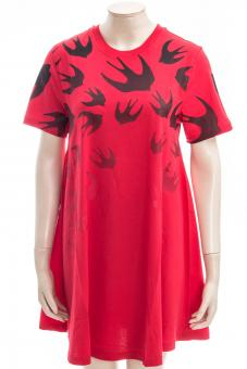 MCQ ALEXANDER MCQUEEN Kleid BABYDOLL DRESS FADING SWALLOW