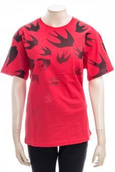 MCQ ALEXANDER MCQUEEN T-Shirt BOYFRIEND T-SHIRT 2 FADING SWALLOW