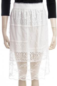 MCQ ALEXANDER MCQUEEN Rock SATSUKI SKIRT CUT UP LACE