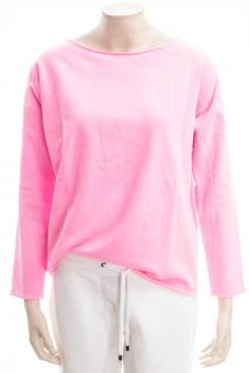 JUVIA Sweatshirt FLEECE FADE OUT SWEATER OVERSIZE
