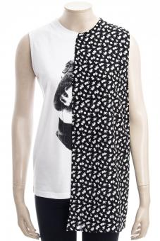 MCQ ALEXANDER MCQUEEN T-Shirt CUT UP KOMARI TOP CUT UP