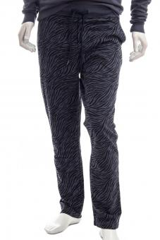 JUVIA Sweathose FLEECE DESERT STRIPES TROUSER
