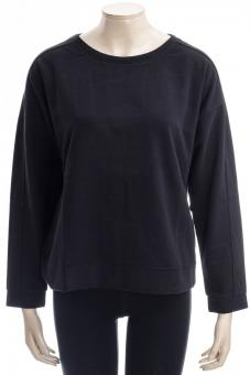 JUVIA Sweatshirt FLEECE SWEATER WITH STITCHING