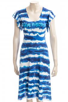 LOVE MOSCHINO Kleid LM BLUE PRINT DRESS