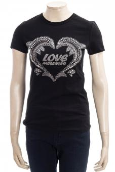 LOVE MOSCHINO T-Shirt LM JRSY DOLPHINE SHAPED TEE