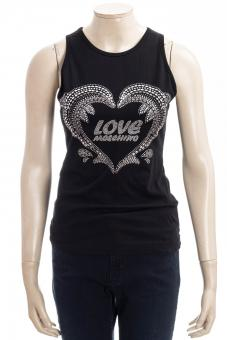 LOVE MOSCHINO Tanktop LM JRSY DOLPHINE SHAPED TOP