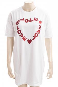 LOVE MOSCHINO Kleid LM JRSY LOGO HEART TEE DRESS