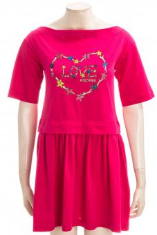 LOVE MOSCHINO Kleid LM JRSY STARFISH HEART DRESS