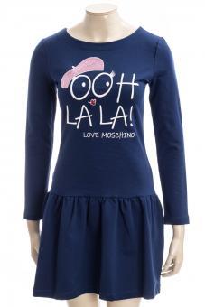 LOVE MOSCHINO Sweatkleid LM JRSY DRESS OH LA LA
