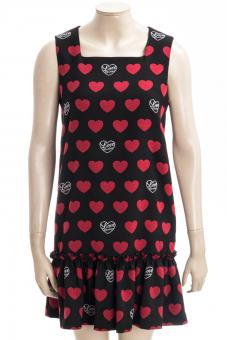 LOVE MOSCHINO Kleid LM ALLOVER HEARTS DRESS