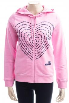 LOVE MOSCHINO Sweatjacke LM JRSY POETRY HEART