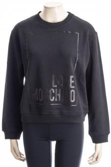 LOVE MOSCHINO Sweatshirt LM SWEAT BLACK LOVE