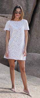 JUVIA Kleid 2STONED ZEBRA DRESS