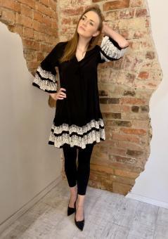 MCQ ALEXANDER MCQUEEN Kleid DRESS BLACK
