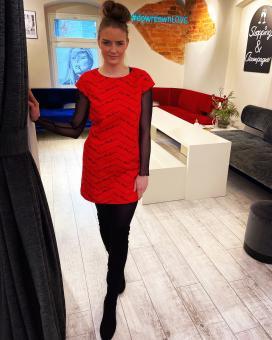 LOVE MOSCHINO Kleid RED DRESS