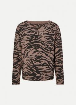 JUVIA Sweatshirt SWEATER ABSTRACT TIGER