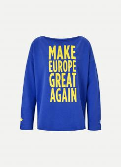JUVIA Sweatshirt MAKE EUROPE GREAT AGAIN #MEGA
