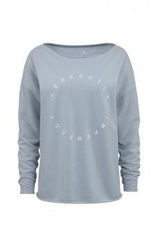 JUVIA Sweatshirt CF FLEECE SWEATER PERFECTLY IMPERFECTLY