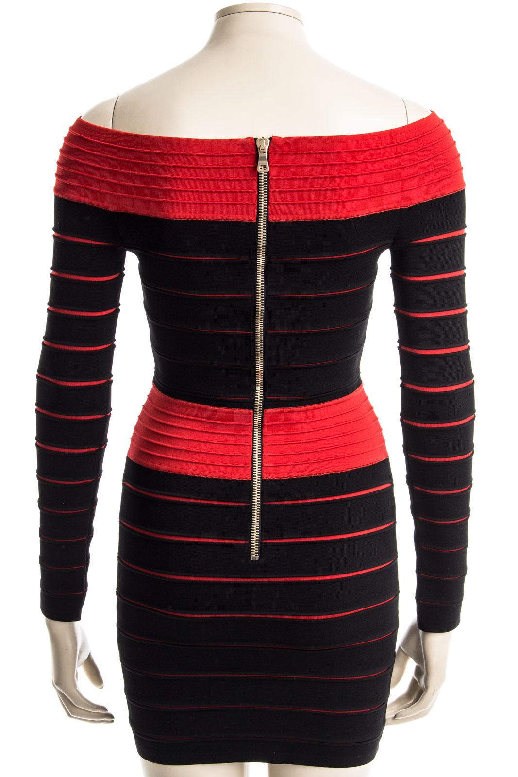 BAUDACH & SCHUSTER   BALMAIN Kleid DRESS RED - Nur in